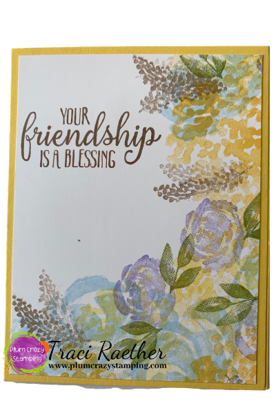 Fast and Easy Cards with SU Beautiful Friendship