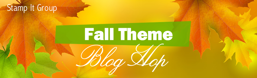 Fall Theme blog hop banner.